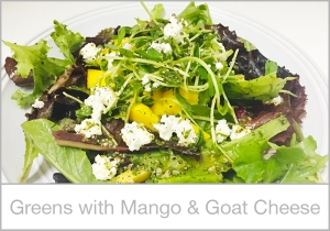 Greens-with-Mango-and-Goat-Cheese