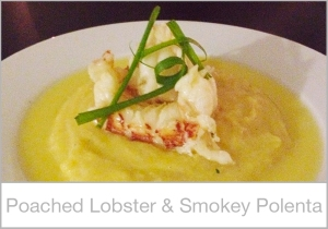Poached-Lobster-and-Smokey-Polenta