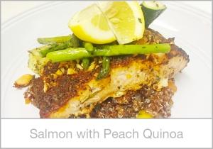 Salmon-with-Peach-Quinoa