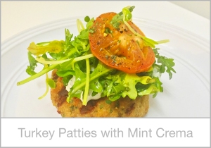 Turkey-Patties-with-Mint-Crema
